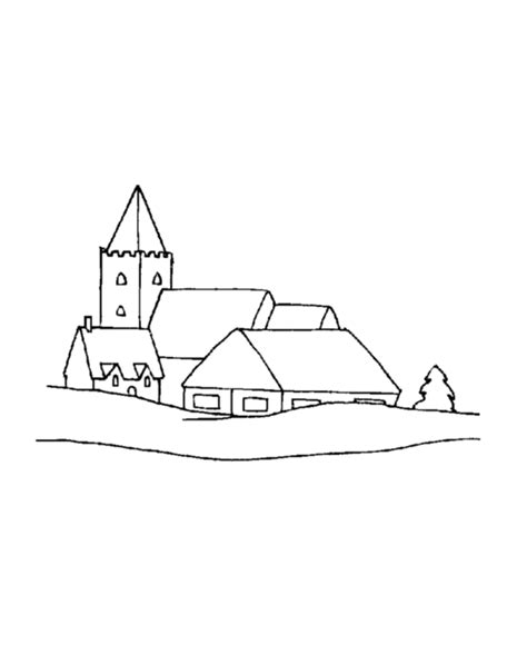 coloring pages christmas village 25 dessins de coloriage village 224 imprimer sur laguerche
