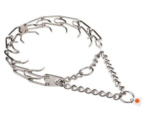 puppy prong collar herm sprenger stainless steel prong collar 28 99 equipment
