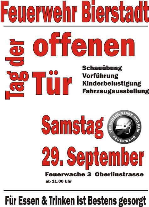 Was Ist Töff by Tag Der Offenen T 252 R Der Feuerwehr Bierstadt Am Samstag