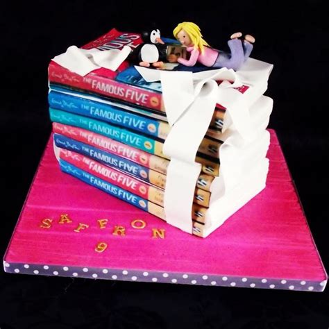 book cake pictures a stack of five books form one delicious cake