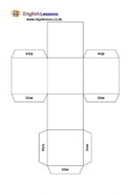 blank dice template 7 best images of blank printable dice foldable cube