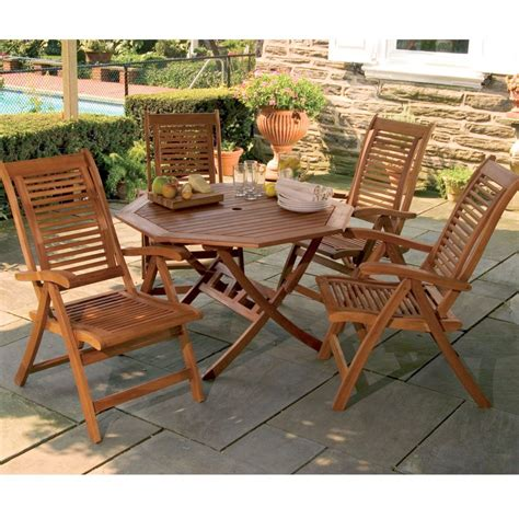 Furniture Folding Wooden Patio Chairs Promotion Shop For Wooden Patio Furniture Sets