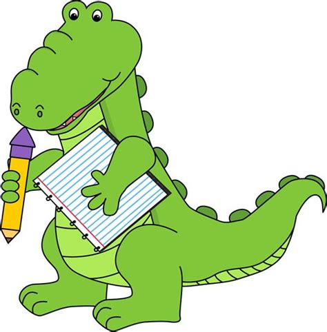 clipart school free alligator clip school alligator clip image