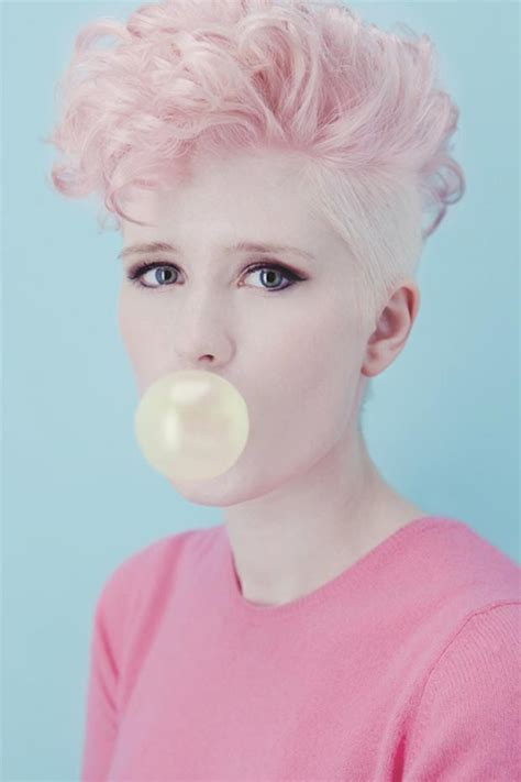 who inspired the bubble cut hairstyle 25 pink hair styles to dye for stylefrizz