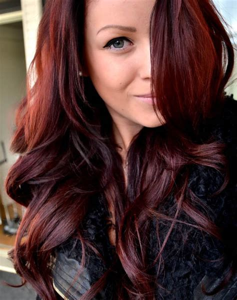 auburn brown hair color pictures reddish brown the latest trends in women s hairstyles