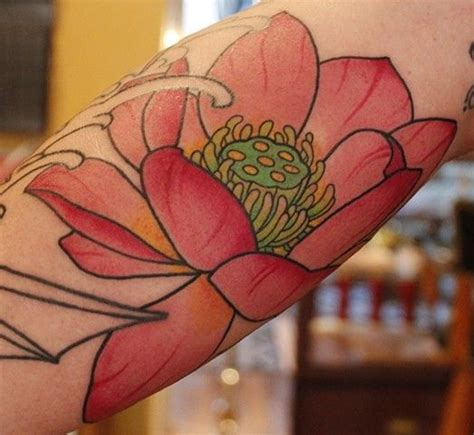lotus flower tattoo japanese meaning japanese lotus tattoo done by fran massino of stay humble