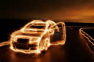 Lighting Cars Cinematography Showcase Of Dazzling Light Painting Artworks Hongkiat