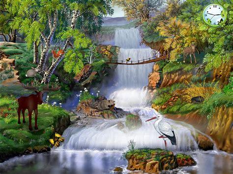 nature screensavers magic  nature