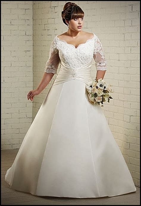 Plus Size Wedding Dresses With Sleeves by Plus Size Wedding Dresses With Sleeves Wedding Plan Ideas