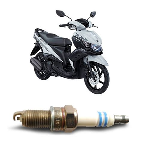 Box Aki Mio Bosch Busi Sepeda Motor Yamaha Mio U4ac U Motor Merk