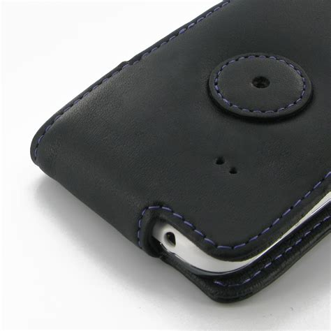 Flipcover Wallet Samsung Ace 3 samsung galaxy ace 3 leather flip purple stitch pdair pouch