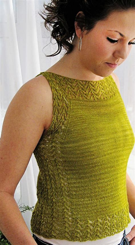 free knitted top patterns tops tanks tees knitting patterns in the loop knitting