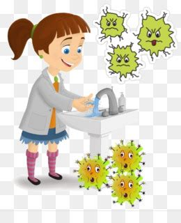 gambar animasi cuci tangan hd terbaru gambar