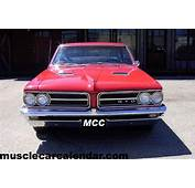 Feature Muscle Car Front Grill And Headlights Of A 1964