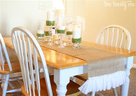 dining room table runners ruffled burlap table runner how to cut burlap diy