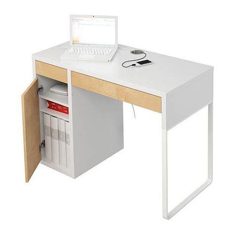 micke desk white micke desk ikea office and birch