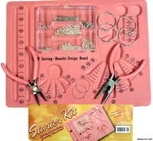 complete jewelry kit silver earring bracelet jewelry starter kit complete w
