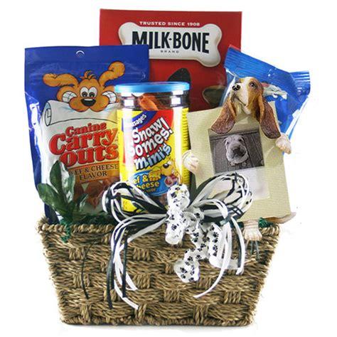 puppy gift basket pet gift baskets faithful friend pet gift basket 911 gift baskets