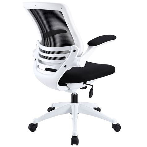 black and white desk chair ede fabric black white modern office chair eurway