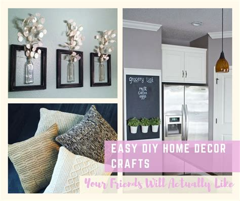 diy home decor easy diy home decor crafts your friends will actually like