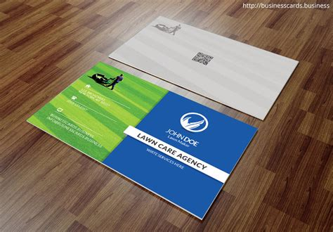 free nursing business card templates free lawn care business card template for photoshop