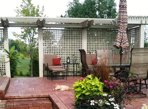 Trellis For Patio by Patio Trellis