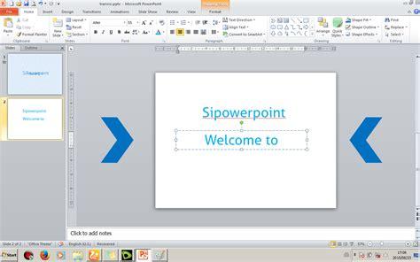 membuat teks prosedur cara melakukan sesuatu cara membuat transisi teks dengan mudah sipowerpoint