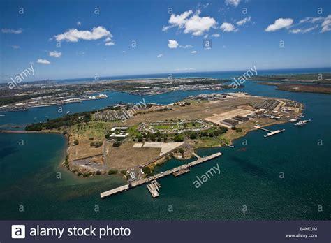 ford island pearl harbor oahu hawaii stock photo royalty