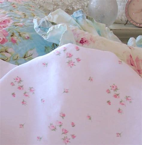 shabby chic sheets shabby chic ashwell sprinkles pink roses rosebuds flat sheet