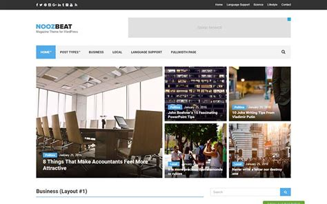newspaper theme squarespace 21 best wordpress magazine and news themes for 2018