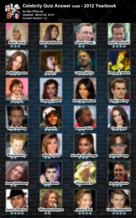 celebrity games and quizzes quiz celebrity hair style