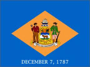 state colors delaware state flag