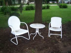 Lawn Furniture Lawn Chair Paint Project Make Mine Eclectic