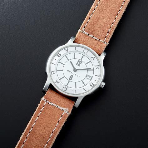 Bulgari Date bulgari date 31744 c 2000 s vintage watches