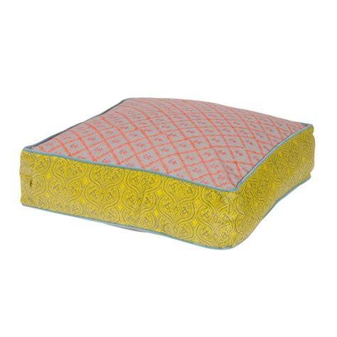 Floor Cushion by Large Floor Cushion In Seven Colours By Out There
