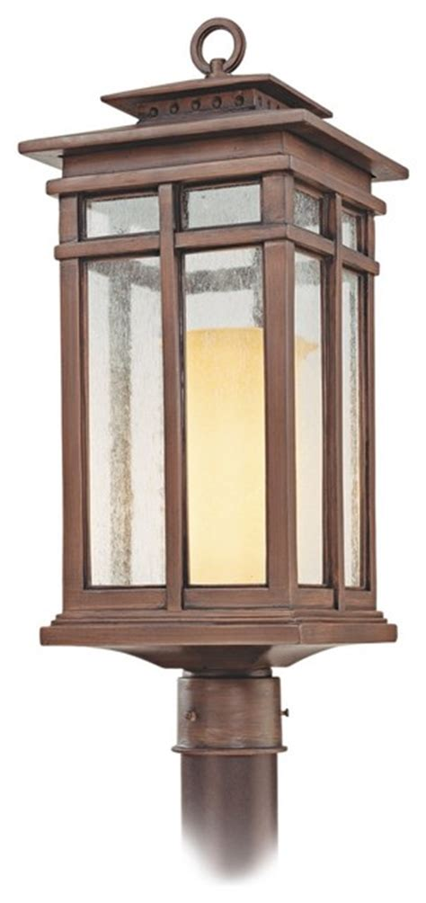 Cottage Style Outdoor Lighting Cottage Grove Collection 22 Quot High Outdoor Post Light Traditional Outdoor Lighting By