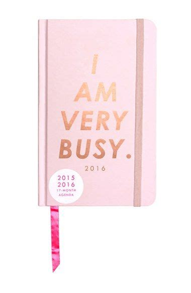 Is Pink This Year bando 2015 2016 i am busy 17 month planner in pink