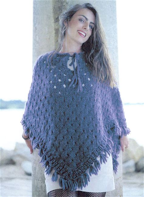 knitted poncho knitted poncho knitting pattern buy instantly 163 1 95