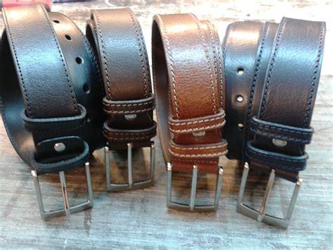 bull leather belt length 125 cm belts buckles