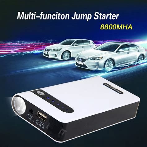 Portable 12000mah 12v 5v Dual Usb Power Bank Car Jump Starter T30 2 Portable 8800mah 12v 5v Dual Usb Power Bank Car Jump