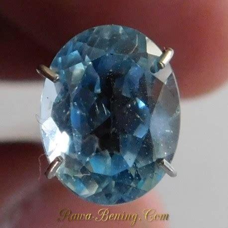 Batu Blue Topaz 4 50 Karat diskon batu permata topaz bright blue oval cut 2
