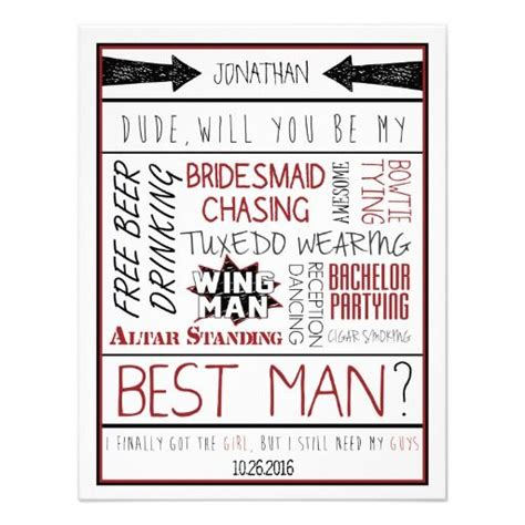 118 Best Images About Will You Be My Groomsman On Pinterest Be My Bridesmaid Grooms And Diy Will Groomsmen Invitation Template