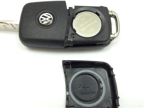 volkswagen key battery replacement replace a battery in a vw key fob remote newer style