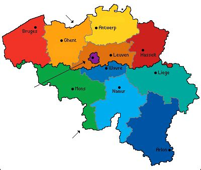 belgium political map belgium factsheet eupedia