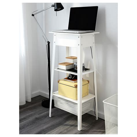 standing station desk ikea ps 2014 standing laptop station white ikea