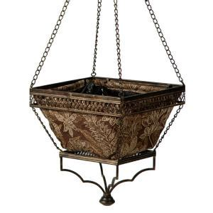 Hanging Planters Home Depot by Bombay Outdoors Black Hanging Planter With Espresso