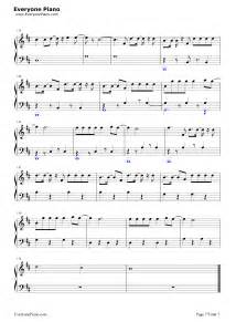 Chord Despacito Despacito Luis Fonsi Stave Preview 7 Free Piano Sheet