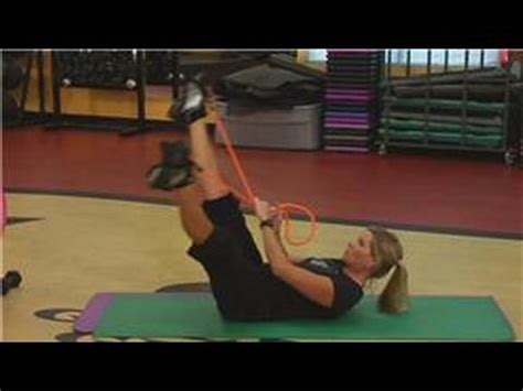 fitness exercise how to get abs with resistance bands