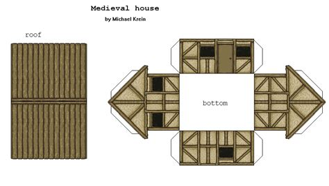 tudor house template 28 images buildings laser cut
