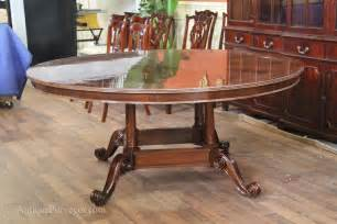 72 Round Dining Room Table by 72 Quot High End Round Mahogany Dining Table With Duncan Phyfe